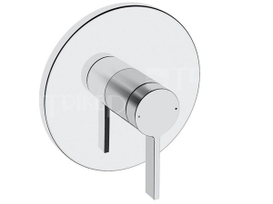 HANSALOFT sprchová baterie podomítková kulatá, vrchní sada