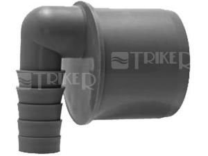 HT koncovka rohová pro připojení hadice DN50/8-25 mm