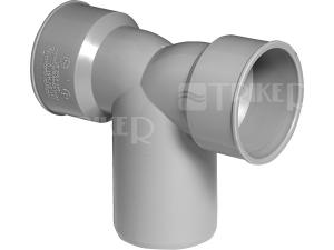 HTDSW sifonové koleno dvojité 40/50/40 mm