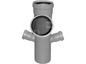 HTEP odbočka paneláková trojitá 110/110/50/50 mm 67°