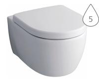 iCon klozet závěsný 53cm s hlubokým splachováním, bílý, 204000000, Keramag