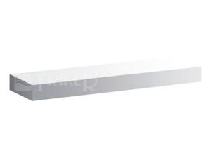 iCon polička 60 cm, bílá lesklá (Alpin)
