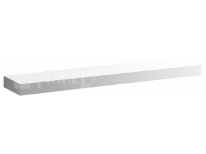 iCon polička 90 cm, bílá lesklá (Alpin)