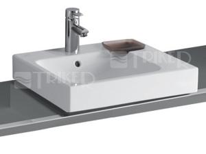 iCon umyvadlo na desku asymetrické