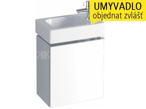 iCon XS skříňka s 1 zásuvkou pod umývátko 38 cm