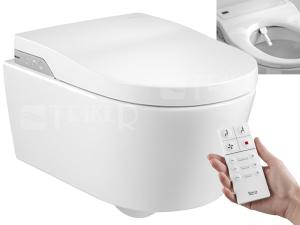 In-Wash Inspira klozet závěsný Rimless se sprchovacími funkcemi, bílý