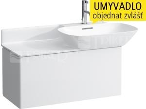 Ino skříňka s 1 zásuvkou pod umyvadlo s poličkou 90 cm