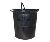 Kalový koš plastový 315 s madlem, IF303000W, Wavin