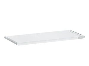 Kartell vanová polička 75x25x1,5cm transparentní