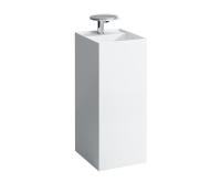 Kartell volně stojící umyvadlo 37,5 x 43,5 cm s otvorem bílé, H8113310001111, Laufen