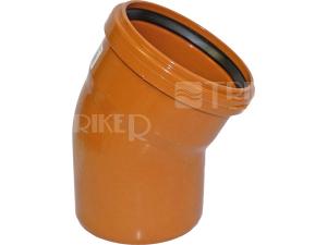 KGB kanalizační koleno 30° 110 mm