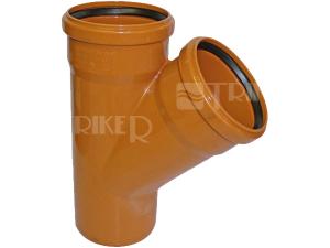 KGEA kanalizační odbočka 45° 110/110 mm