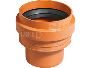 KGUS přechod kamenina/PVC 110 mm (včetně těsnění)