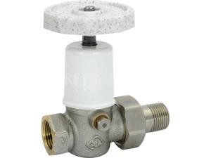 Kohout radiátorový přímý VE-4522 DN25 1