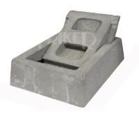 Komínová dvířka betonová kolébka 210x270 mm