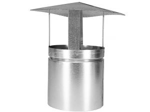 Komínová stříška ventilační pozinková