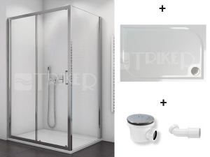 Komplet TBFS2 dveře s boční stěnou