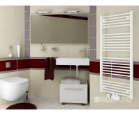 Koralux Linear Classic koupelnový radiátor KLCM 700/450 mm, bílý, KLC07000450M10