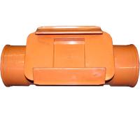 KOREM čistící kus se zpětnou klapkou 125 mm, Dyka