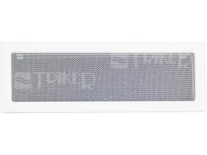 Krbová mřížka lakovaná LKM 170 x 490 mm, bílá