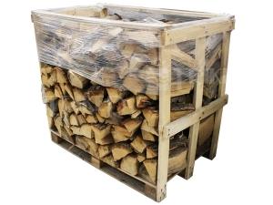 Krbové dřevo štípané tvrdé rovnané 33 cm