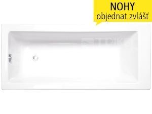 Kubic vana akrylátová 150 x 70 cm, bílá