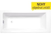 Kubic vana akrylátová 160 x 70 cm, bílá, 8940000, Roltechnik