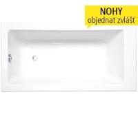 Kubic vana akrylátová 160 x 80 cm, bílá, 9760000, Roltechnik