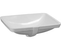 Laufen Pro A umyvadlo vestavné 53 x 40,5 cm bez otvoru bílé, H8119610001091, Laufen