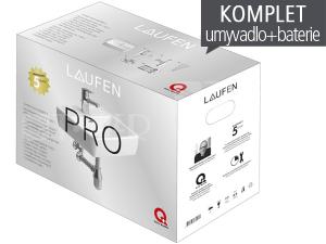 Laufen Pro A umývátko 45 x 34 cm s otvorem bílé, PACK s baterií Citypro