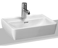 Laufen Pro A umývátko broušené 45 x 34 cm s otvorem bílé, H8119520001041, Laufen