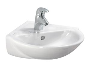 Laufen Pro B umývátko rohové 49,5 x 50 cm s otvorem bílé
