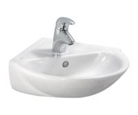 Laufen Pro B umývátko rohové 49,5 x 50 cm s otvorem bílé, H8169560001041, Laufen