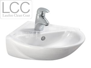 Laufen Pro B umývátko rohové 49,5 x 50 cm s otvorem bílé+LCC