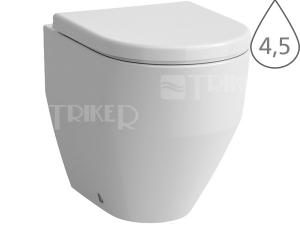 Laufen Pro klozet stojící 43 cm kapotovaný Vario odpad/hluboké splachování, bílý