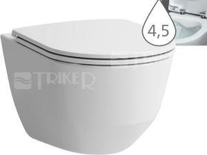Laufen Pro klozet závěsný 49 cm kapotovaný/RIMLESS/COMPACT bílý