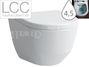 Laufen Pro klozet závěsný 49cm Compact Rimless bez oplachovacího kruhu bílý+LCC