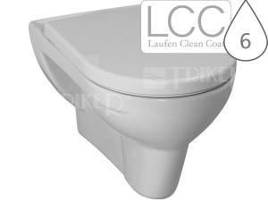 Laufen Pro klozet závěsný 56 cm ploché splachování bílý/LCC