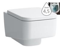 Laufen Pro S klozet závěsný 53 cm RIMLESS bez oplachovacího kruhu bílý, H8209620000001, Laufen