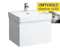 Laufen Pro S skříňka s 1 zásuvkou pod umyvadlo 60 x 46,5 cm bílá/lesk, H4833710964641, Laufen