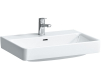 Laufen Pro S umyvadlo broušené 65 x 46,5 cm s otvorem bílé, H8169640001041, Laufen