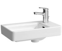 Laufen Pro S umývátko 48 x 28 cm pravé s otvorem pro baterii bílé, H8159540001041, Laufen
