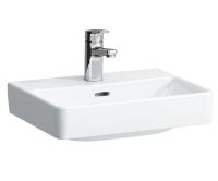 Laufen Pro S umývátko broušené 45 x 34 cm s otvorem bílé+LCC, H8169614001041, Laufen