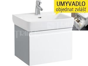 Laufen Pro skříňka s 1 zásuvkou pod umyvadlo 60 x 48cm bílá