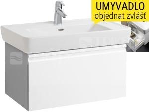 Laufen Pro skříňka s 1 zásuvkou pod umyvadlo 85 x 48 cm bílá