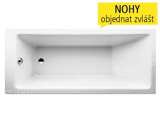 laufen pro vana akryl tov 4 5mm vestavn 160 x 70 cm b l triker. Black Bedroom Furniture Sets. Home Design Ideas