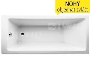 Laufen Pro vana akrylátová 4-5mm vestavná 170 x 75 cm bílá