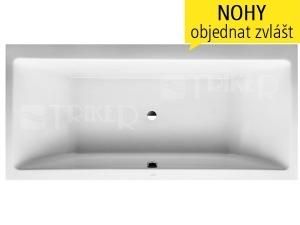 Laufen Pro vana akrylátová 4-5mm vestavná, středový odtok 180 x 80 cm bílá