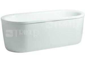 Laufen Solutions vana akrylátová volně stojící 180 x 80 cm ovál bílá