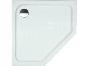 Laufen Solutions vanička akrylátová pětiúhelniková 90 x 90 cm bílá